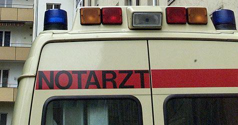 87-Jähriger in Eben mit Gesicht gegen Mauer geprallt - tot! (Bild: Christof Birbaumer)
