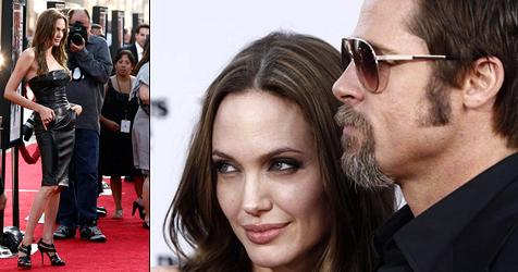 Jolie und Pitt turteln Krisengerüchte weg