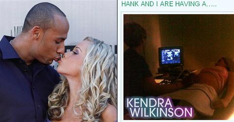 Kendra Wilkinson postet Ultraschallbild