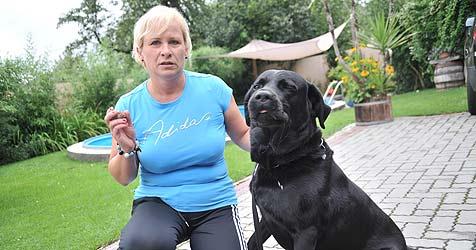 Hund sollte an Glasscherben sterben (Bild: Horst Einöder)