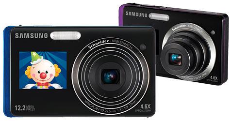 Samsung-Kameras mit zwei Displays (Bild: Samsung)