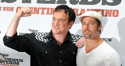 """Brad Pott"" hat gelogen - sagt Quentin Tarantino (Bild: dpa/Z1008 Jens Kalaene)"