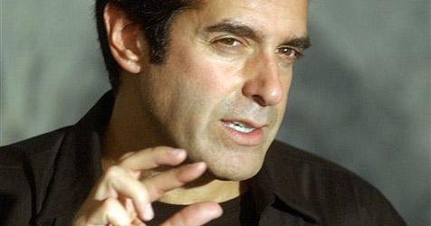 Keine Illusion: David Copperfield ist seit 16 Monaten Vater