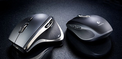 Neue Logitech-Mäuse funktionieren selbst auf Glas (Bild: Logitech)