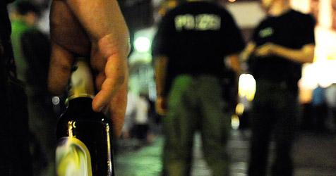 Wieder Zwischenfälle bei Fest der Jungen ÖVP (Bild: AP/Rothermel)