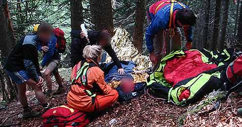 Henndorfer bei Alpinunfall in Bayern verletzt (Bild: BRK)