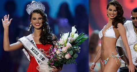 """Venezolanische Schönheit neue """"Miss Universum"""""""
