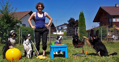 """Tiertrainerin eröffnet """"Arbeitsamt"""" für Hunde (Bild: www.hundearbeitsamt.ch/Anna Herzog)"""