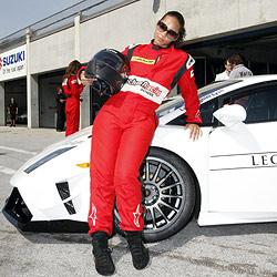 Alicia Keys jagt über den Salzburgring (Bild: Markus Tschepp)