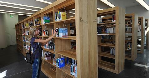 Landesbibliothek in neuem Glanz (Bild: Chris Koller)