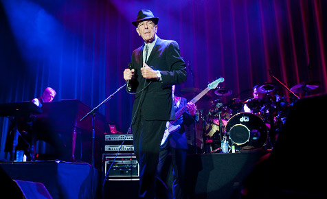 Leonard Cohen live in Wiesen (Bild: Andreas Graf)