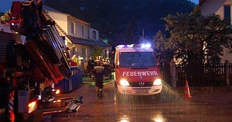 Zahlreiche Feuerwehreinsätze nach Regen (Bild: Bfkdo Amstetten)