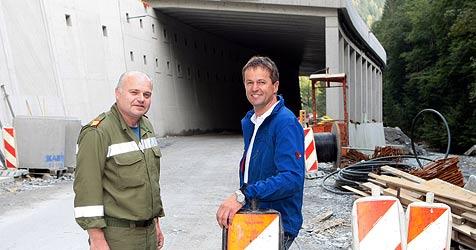 Endlich sichere Zufahrt für Dienten (Bild: Andreas Kreuzhuber)