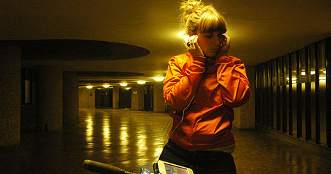 "Interaktives Linz09-Theater ""Rider Spoke"" (Bild: Rider Spoke by Blast Theory)"