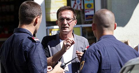 Täter bedrohen Trafikant mit Zange und Pistole (Bild: Markus Tschepp)