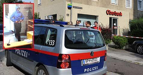 Banküberfall am Froschberg in Linz (Bild: Hanes Markovsky / Polizei)