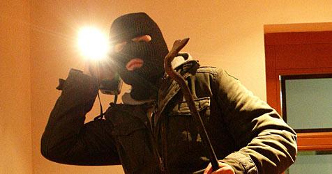 Mutige Bewohnerin packt Einbrecher an seiner Jacke (Bild: APA/HELMUT FOHRINGER)