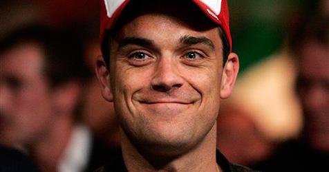 Bei Robbie Williams geht ein Geist um