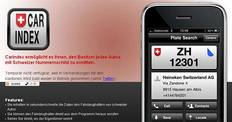 Schweizer iPhone-App in der Kritik