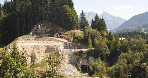Riesenwirbel um Gips-Tagebau (Bild: Wolfgang Weber)