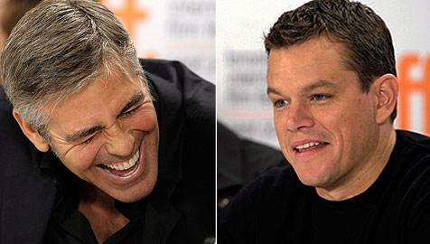 Erotischster Mann: Clooney will Damon helfen