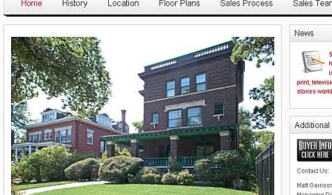 Nachbarhaus der Obamas zu verkaufen (Bild: 5040greenwood.com)