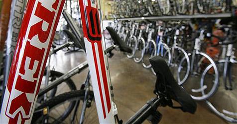 Fahrradgeschäft geplündert - 70.000 Euro Schaden (Bild: AP)