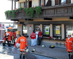 Kerze am WC verursachte Brand in Großarl (Bild: Andreas Kreuzhuber)