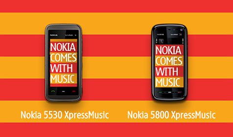 "Nokia startet Musik-Flatrate ""Comes With Music"" (Bild: Nokia)"