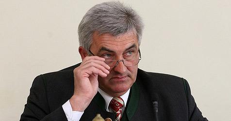 Simon Illmer wieder Landtagspräsident (Bild: Andreas Tröster)