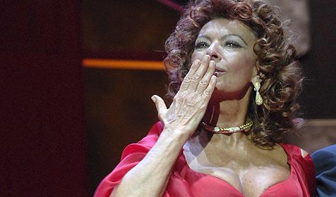 Weltstar Sophia Loren ist 75