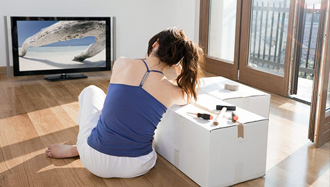 Das beste Bild am Flachbild-Fernseher (Bild: © [2009] JupiterImages Corporation)