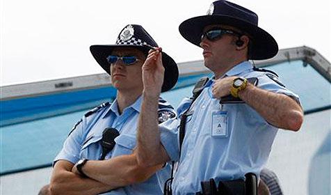 Polizisten tanzten nackt auf offener Straße