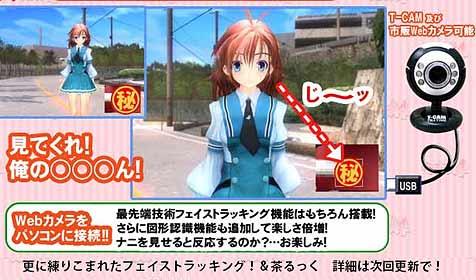 """Videospiel nutzt Geschlechtsteil als """"Controller"""" (Bild: teatime.ne.jp)"""