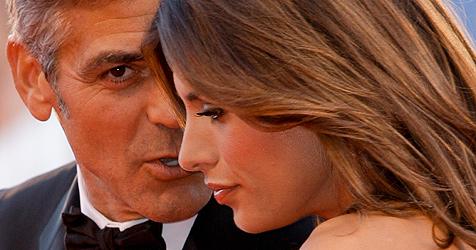 Clooney besuchte künftige Schwiegermutter