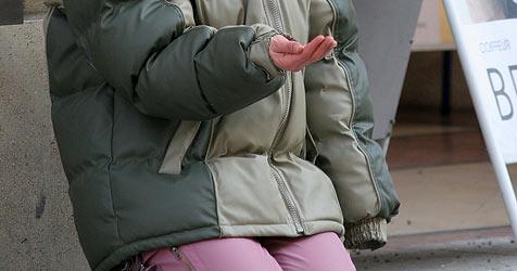 Bettler aus dem Osten verwunden sich selbst (Bild: Peter Tomschi)