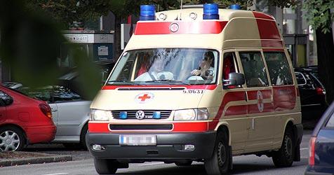 Pkw mit vier jungen Männern stürzte im Weinviertel in Bach (Bild: Jürgen Radspieler)