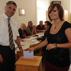 130.000 Wahl-Neulinge durften Kreuzerl machen (Bild: Chris Koller)
