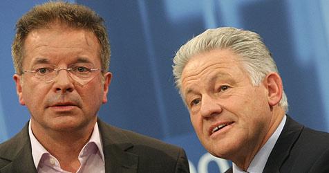 Nur mehr Rot und Grün als mögliche Partner für die ÖVP (Bild: APA/rubra)