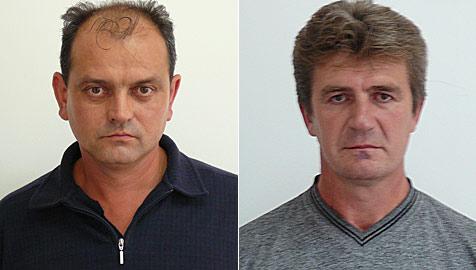 Diebstähle aufgeklärt - zwei Verdächtige flüchtig (Bild: LKA Niederösterreich)