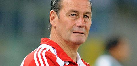 RB-Trainer Stevens dementiert Kontakt zum VfL Wolfsburg (Bild: APA/Herbert Pfarrhofer)