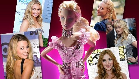 Wer schnappt sich die heiß begehrte Barbie-Rolle? (Bild: APA/RAFAELA PROELL / MATTEL, AP)