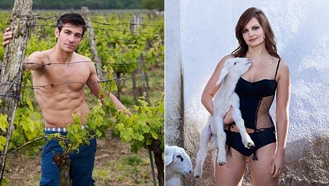 Kalender für 2010 ist da: So sexy sind unsere Jungbauern! (Bild: Jungbauernkalender 2010)