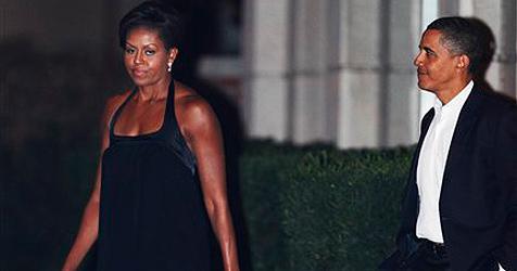 Ausgerechnet am Hochzeitstag kriselt es bei den Obamas