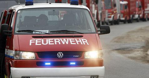 Lkw-Unfall mit Sommerreifen auf A10 bei Flachau (Bild: APA/HARALD SCHNEIDER)