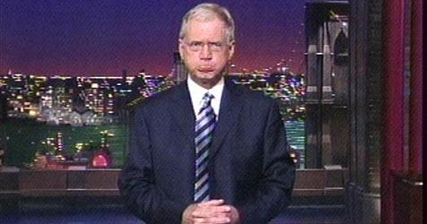 Talker Letterman entschuldigt sich im TV bei seiner Frau