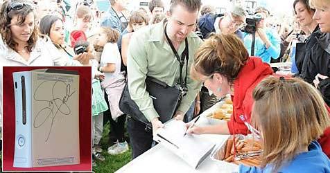 Xbox mit Palin-Unterschrift für 1,1 Millionen US-Dollar