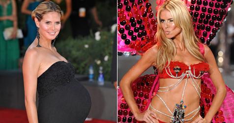 Klum will 20 Kilo Übergewicht nach Baby abtrainieren