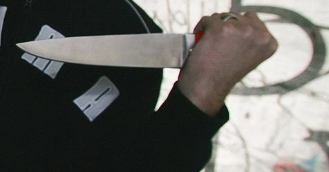 Kosovare stellt sich nach Brotmesser-Angriff der Polizei (Bild: Holl Reinhard)
