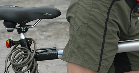 Pedalritter kam Lenkern auf A1 bei Thalgau entgegen (Bild: martin a jöchl)